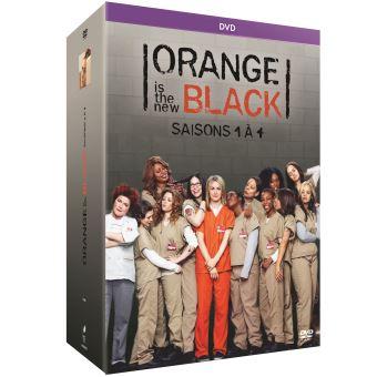 Orange is the New BlackOrange is the New Black Saisons 1 à 4 DVD