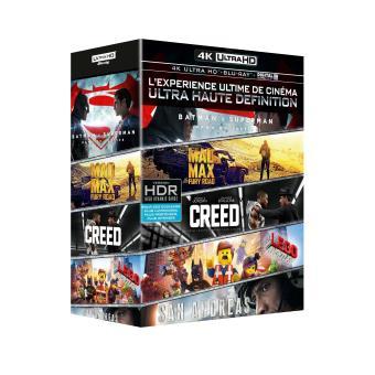 Coffret Découverte 5 films Blu-ray 4K Ultra HD