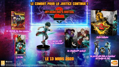 My Hero One's Justice 2 Collector Nintendo Switch
