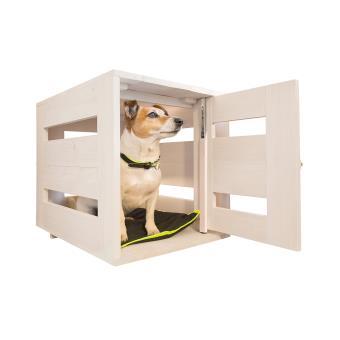 Niche d\'intérieur en bois pour chiens Ferplast Dog Home Médium ...