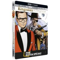Kingsman : Le Cercle d'or Steelbook Edition spéciale Fnac Blu-ray 4K Ultra HD