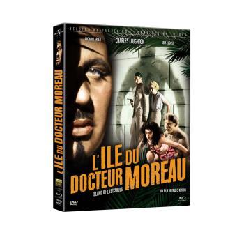 L'île du docteur Moreau Combo Blu-ray DVD