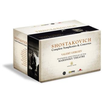 Chostakovitch : Intégrale des symphonies et concertos - 4 Blu Ray