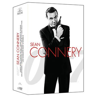 Coffret Bond Sean Connery 6 films Edition 2015 DVD