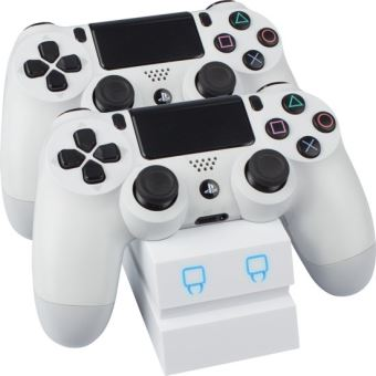 Venom twin docking station for ps4 white