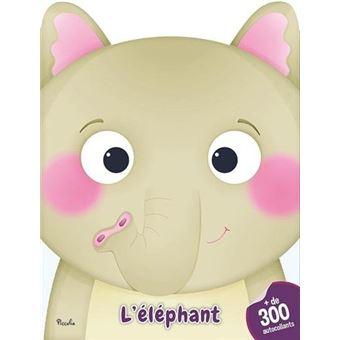 300 autocollants l'elephant