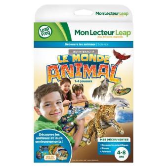 Livre mon lecteur leap les animaux du monde leapfrog jeu for Livre les maisons du monde