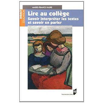 Lire Au College