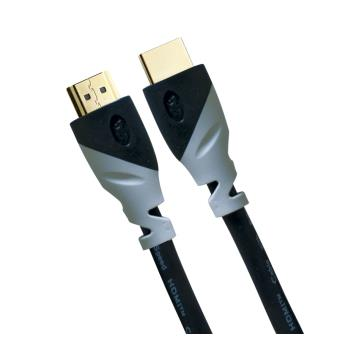 Câble On Earz Cable Gear HDMI HQ 3 m 4K UHD Noir et Gris