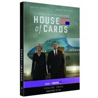 House of cardsHouse of Cards Saison 3 - DVD