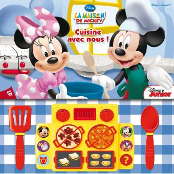 mickey je cuisine avec mickey et minnie collectif reli achat livre fnac. Black Bedroom Furniture Sets. Home Design Ideas