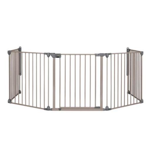 Barrière modulaire Safety First Modular 5 Métal Light Grey