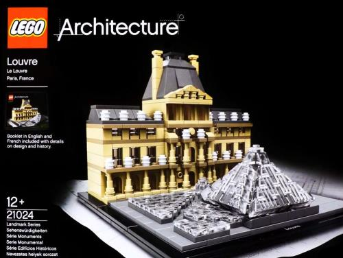 prix LEGO 21024 Le Louvre