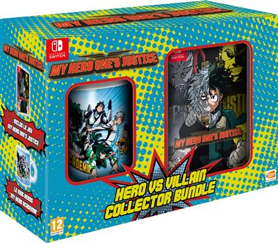 Pack Collector My Hero Ones Justice Nintendo Switch + Mug Héros My Hero Academia