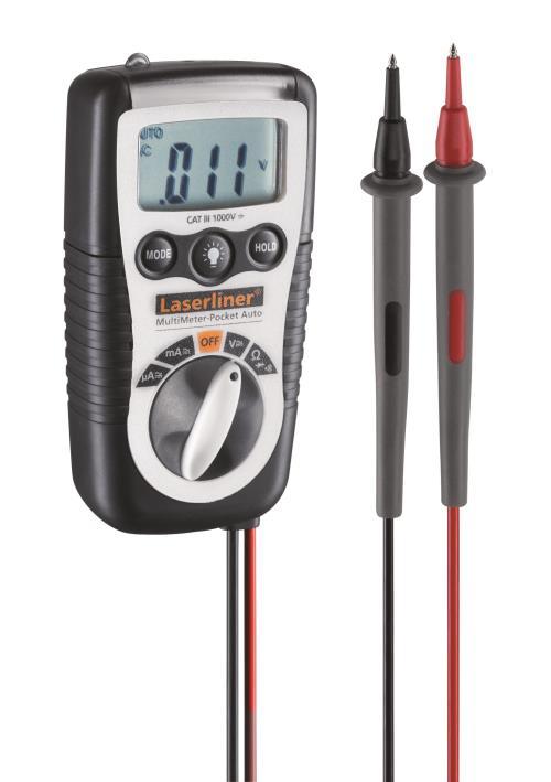 Multimètre Laserliner MultiMeter Pocket