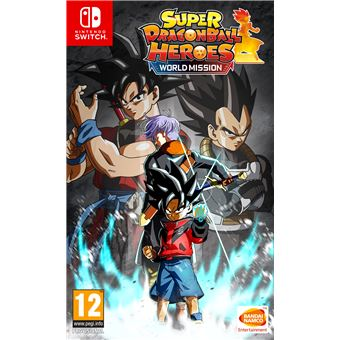 Super Dragon Ball Heroes World Mission Hero Edition Nintendo Switch