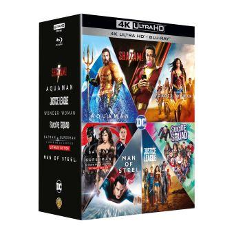 Coffret DCEU L'intégrale Blu-ray 4K Ultra HD