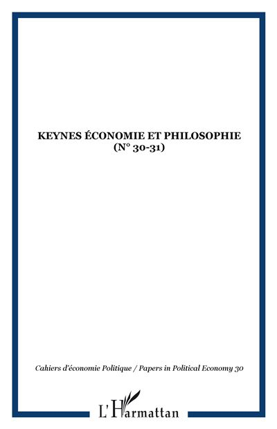 Keynes economie et philosophie