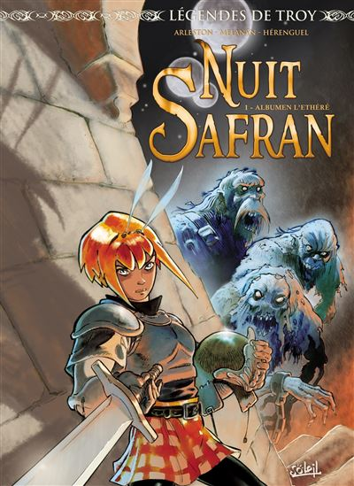 Legendes de Troy - Nuit Safran
