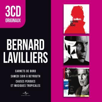 3 CD Originaux : Carnets de bord, Samedi soir à Beyrouth, Causes perdues et Musiques tropicales