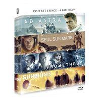 Coffret Ad Astra Seul sur Mars Prometheus Sunshine Blu-ray