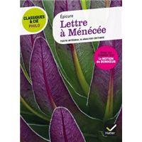 Classiques & Cie Philo - Lettre à Ménécée