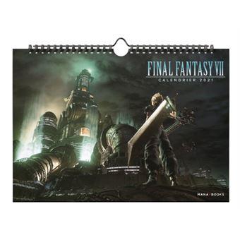 Final Fantasy   Final Fantasy VII   Calendrier 2021   Collectif