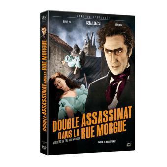 Double assassinat dans la rue Morgue DVD