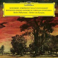 Schubert: Symphony No.8; Beethoven: Overtures - LP 12''