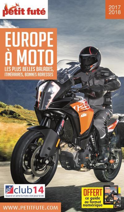 Europe à moto 2017 petit fute + offre num