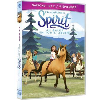 Spirit Au galop en toute libertéSpirit Au galop en toute liberté Saisons 1 et 2 DVD
