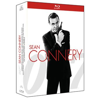 Coffret Bond Sean Connery 6 films Edition 2015 Blu-ray