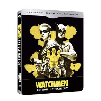 WatchmenWatchmen : Les Gardiens Edition Ultimate Cut Steelbook Blu-ray 4K Ultra HD