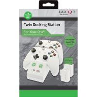 Venom twin docking station for xone white