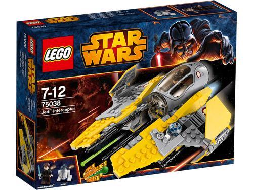 Place Anakin SkywalkerT et R2-D2T dans l'agile Intercepteur JediT avec un cockpit qui s'ouvre, des volets qui se replient sur les ailes et de nouveaux canons doubles à ressorts. Envole-toi vers les étoiles et sauve PalpatineT des griffes des maléfiques fo
