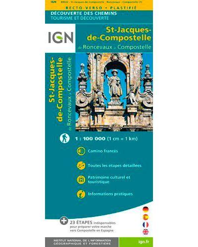Saint Jacques Roncevaux, Compostelle