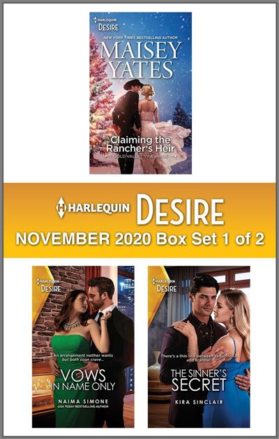 Harlequin Desire November 2020 - Box Set 1 of 2