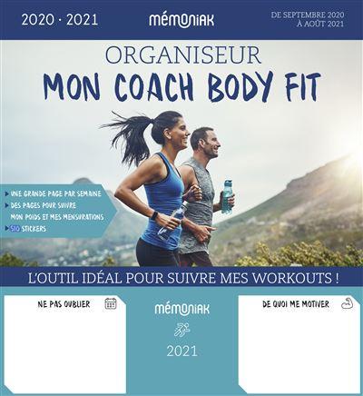 Organiseur Mon coach body fit 2020-2021
