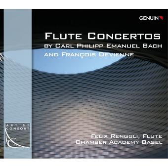Bach & Devienne: Flute Concertos