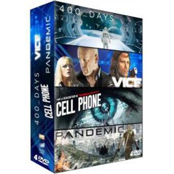 Coffret 400 Days, Pandemic, Vice, Cell Phone DVD