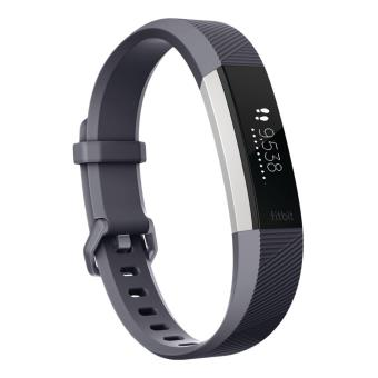 Fitbit Alta HR connected armband blauw maat S