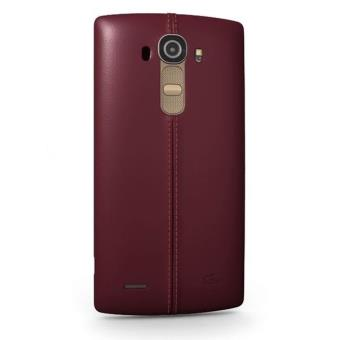 smartphone lg g4 32 go cuir bordeaux smartphone achat. Black Bedroom Furniture Sets. Home Design Ideas