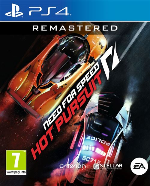 Need for Speed : Hot Pursuit Remastered PS4