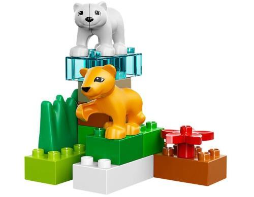 4962 Le zoo des b/éb/és animaux DUPLO Jeu de construction premier /âge