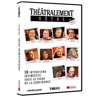 Théâtralement vôtre Volume 1 DVD