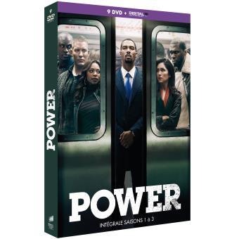 PowerPower Saisons 1 à 3 DVD