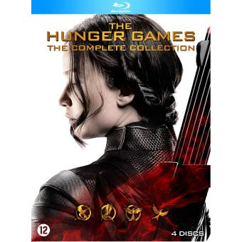DVD HUNGER GAMES THE COMPLETE COLLECTION-FR-BLURAY