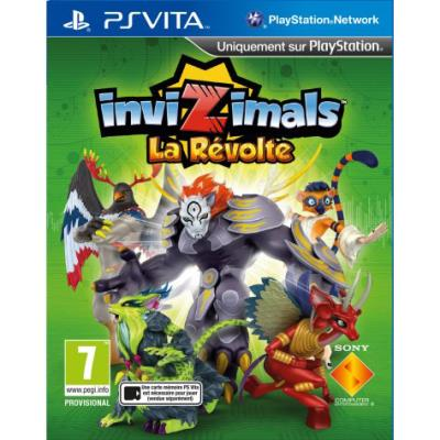 Invizimals La Revolte PS Vita - PS Vita