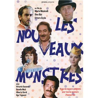 Les nouveaux monstres DVD