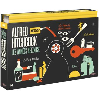 Hitchcock Les années Selznick Coffret Ultra Collector n°7 DVD